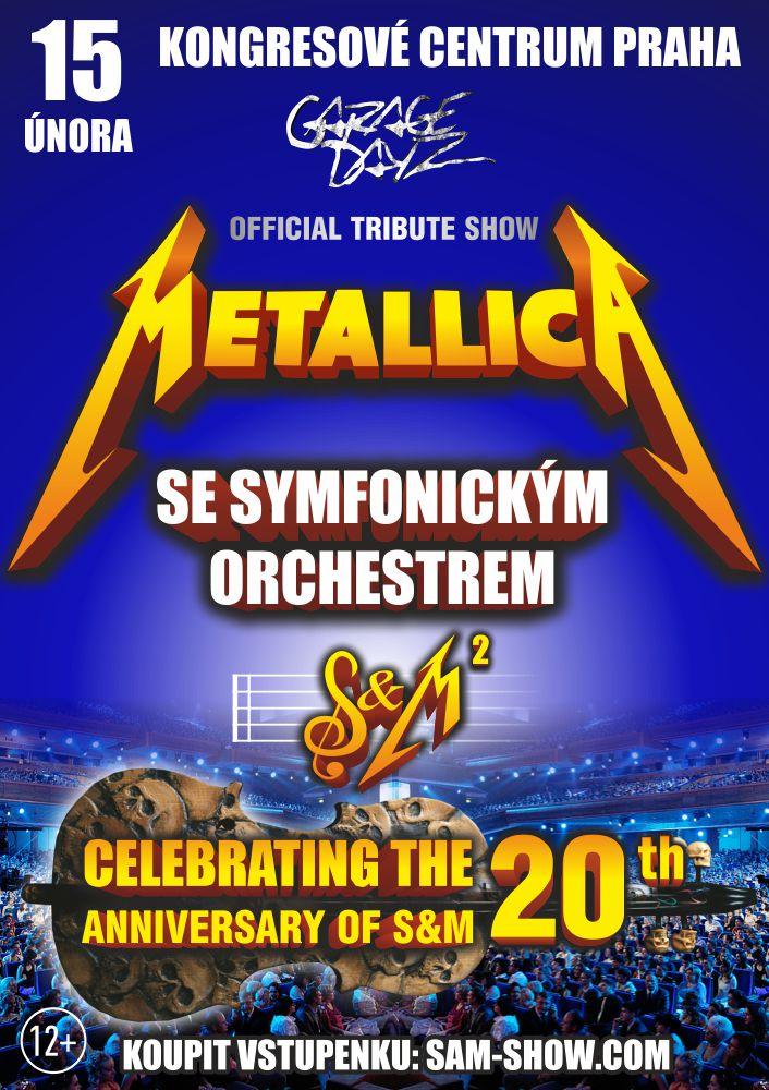 Koncert Metallica Tribute Show se symfonickým orchestrem v Praze -Kongresové centrum PRAHA